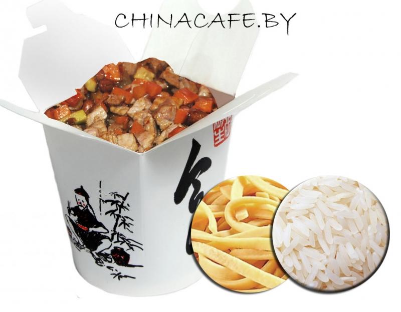 """Китайские коробочки или утка по-пекински от кафе """"Шанхай"""" от 6,50 руб."""
